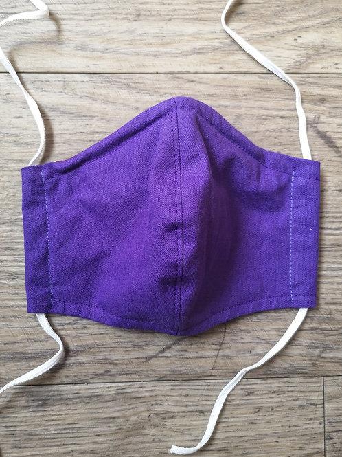 Schutzmaske Violett
