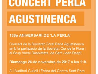 Concert aniversari Perla Agustinenca
