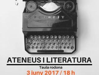 Taula rodona: Ateneus i literatura
