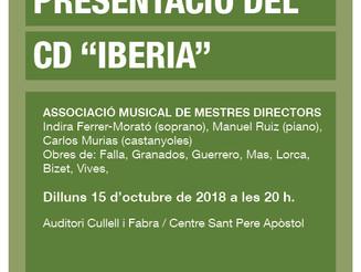 """Presentació del CD """"Iberia"""""""