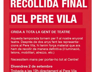 Recollida final Pere Vila
