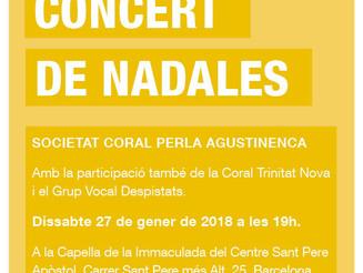 Concert de nadales Perla Agustinenca