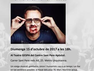 Mal Martínez. Humor i hòsties - BCN Districte Cultural