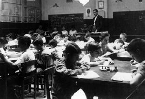Les classes amb nens