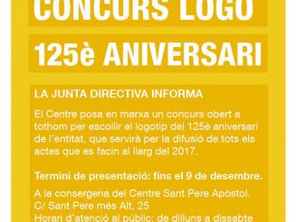 Concurs logotip 125è aniversari