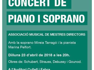 Recital de soprano i piano