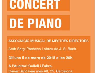 Concert de Sergi Pacheco
