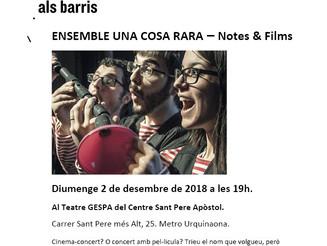 BCN Districte Cultural - Notes&Films