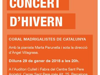 Concert d'hivern de la Coral Madrigalistes
