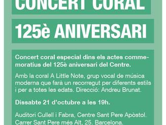 Concert commemoratiu del 125è aniversari