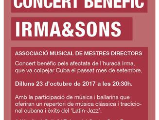 Concert benèfic Irma&Sons