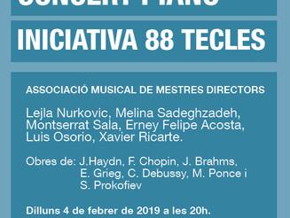 Concert de piano: Iniciativa 88 Tecles