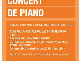 Concert de piano de Natalia González Figueroa