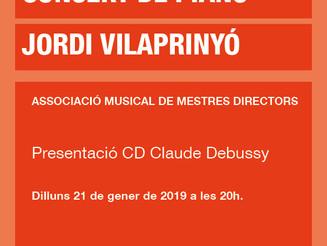 Concert de piano: Jordi Vilaprinyó