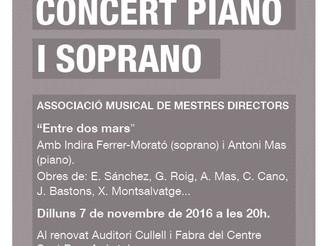 Concert de soprano i piano