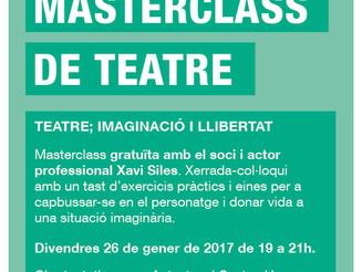 Masterclass gratuïta de teatre