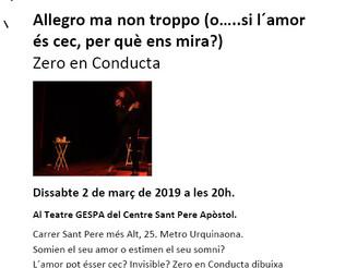 BCN Districte Cultural - Allegro ma non troppo (o.....si l'amor és cec, per què ens mira?)