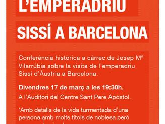 Sissí, l'emperadriu que va visitar Barcelona