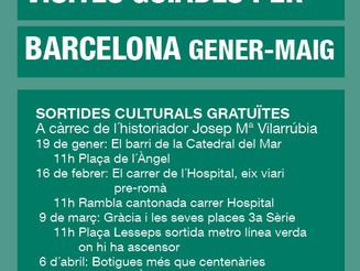 Visites guiades per Barcelona