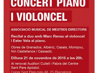 Concert de piano i violoncel
