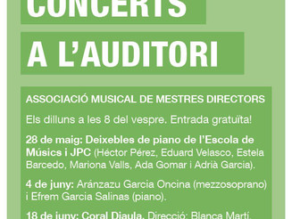 Propers concerts a l'Auditori