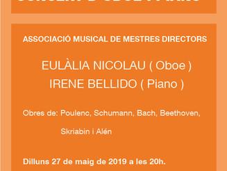 Concert d'oboe i piano