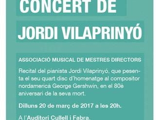 Concert de Jordi Vilaprinyó