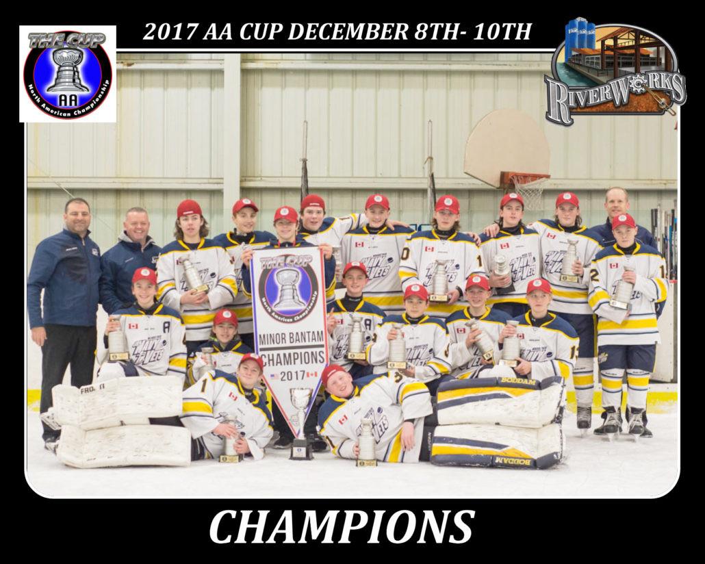 Minor Bantam Champions