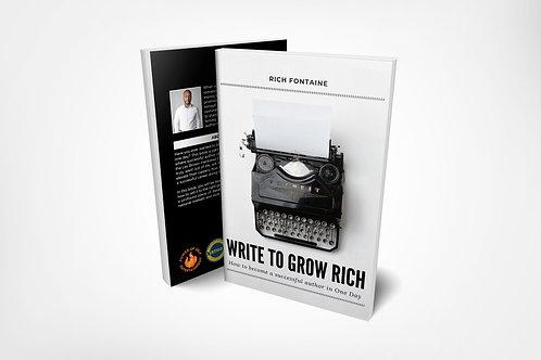 Write to Grow Rich Hardcopy