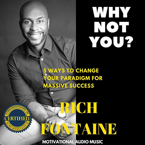 Why Not You? Motivational Audio CD