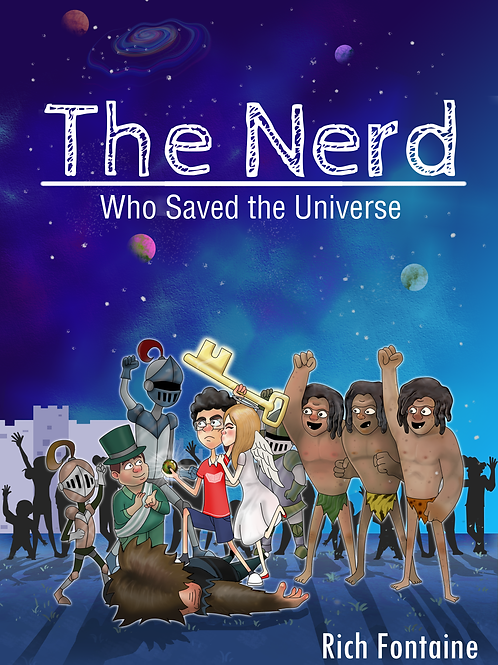 The Nerd who saved the Universe Hardcopy