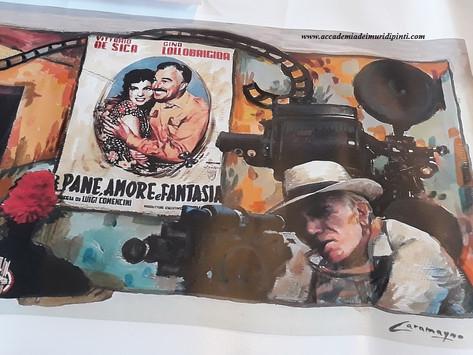 Tour del cinema - Murales di Legro