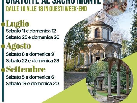 Visite guidate  gratuite al Sacro Monte d'Orta - UNESCO