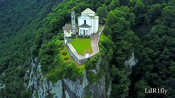 Santuario Madonna del Sasso, lago d'Orta
