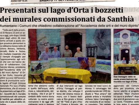la Stampa parla dei nostri nuovi traguardi: Santhià