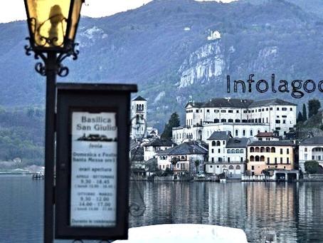 Navigazione sul Lago d'Orta Orari e corse 2020