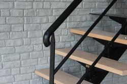 main courante et escalier