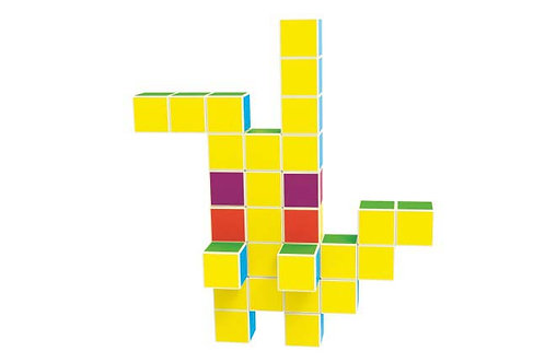 Magnetic Cubes Original Magnetic Building Blocks For Creative Open-Ended Play