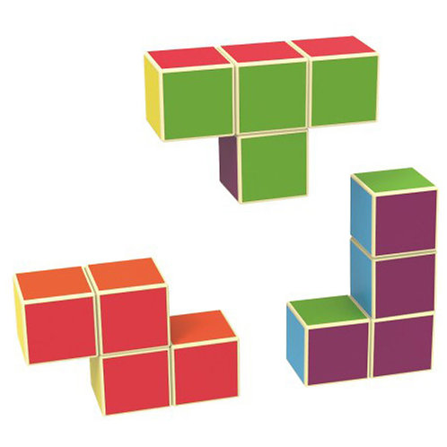 Magnetic Building Cubes Educational Toys for Children Ages 3 Years +