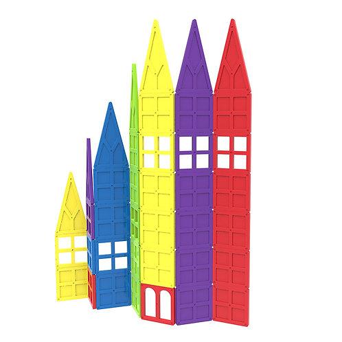 Magnetic Building Blocks Magnetic Tiles Educational Toys Tiles Set for Kids