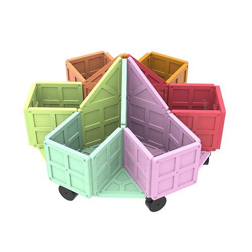 Magnet Building Tiles Construction Playboards - Creativity Beyond Imagination