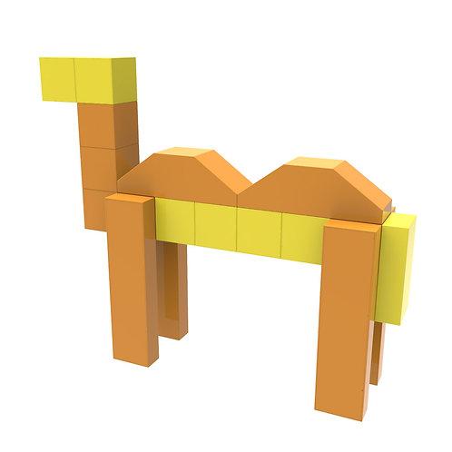 Magnetic Tiles 3D Magnetic Toys Educational STEM Toys Tiles Set
