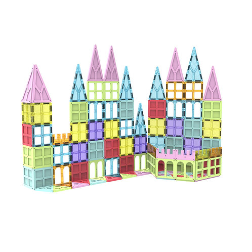 Magnetic Building Blocks and Tiles for Kids – STEM Toy Blocks for Ages 3+