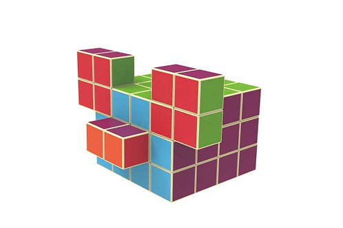 Magnetic Versatile Cubes,Educational Toys For Boys/Girls Ages 3 Years +