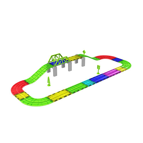 Magnetic Race Tracks and Toy Cars for kids ages 3 and up