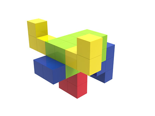 Innovative Magnetic Building Blocks for Kids, Sensory Toys Magic Cubes
