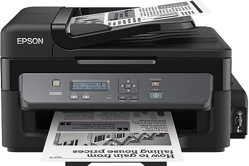 Epson M200 : Mono-Print, Scan, Copy, ADF