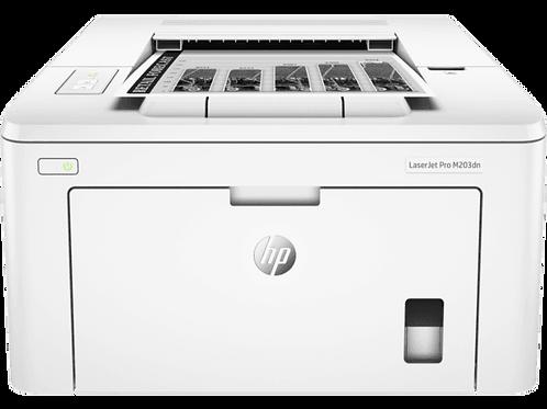 HP LaserJet Pro M203dn : Print, Duplex, Network