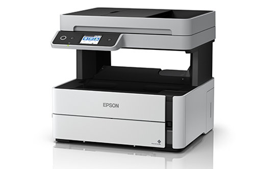 Epson M3140 : Mono_Print, Scan, Copy, Duplex, Wifi, Lan, ADF, Fax