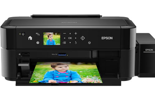 Epson L810 : Photo Print, Wifi, Touch Screen